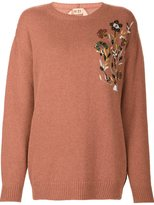 No.21 sequin embellished jumper