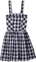 Fiveloaves Twofish fiveloaves twofish Rosie Fit-and-Flare Dress (Big Kids) (Navy) Girl's Dress