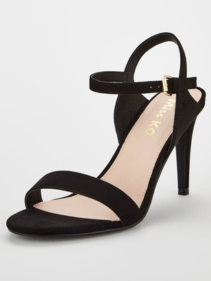 Miss KG Poppy Barely There Sandals - Black