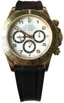 Vintage Rolex Daytona Black Yellow gold Watches