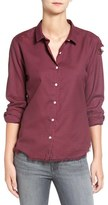 DL1961 Women's 'Mercer & Spring' Distressed Gingham Shirt