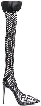 Le Silla Gilda sock-style pumps