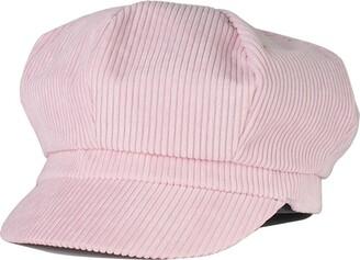 Thenice Women Girl Warm Beret Hat Corduroy Newsboy Flat Cap (Beige)