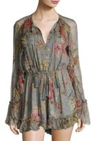 Zimmermann Mercer Floating Silk Playsuit