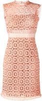 Essentiel Antwerp open lace fitted dress