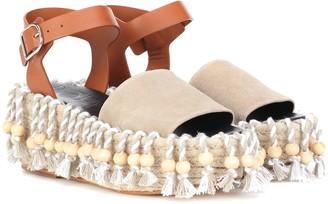 Loewe x Paula's Ibiza platform sandals