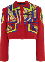 Peter Pilotto Embroidered twill jacket
