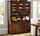 Pottery Barn Benchwright Buffet & Hutch