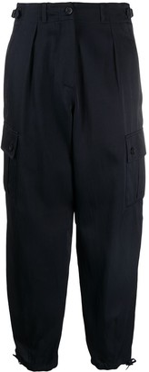 Aspesi Cropped Cargo Trousers