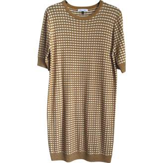 Bella Freud Gold Synthetic Dresses