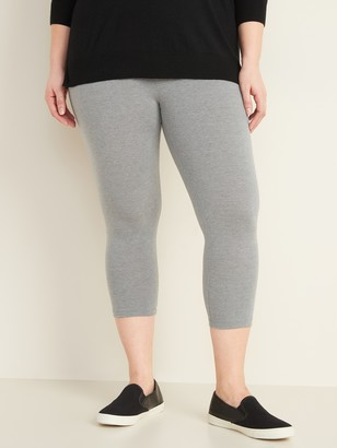 Old Navy High-Waisted Plus-Size Capri Leggings