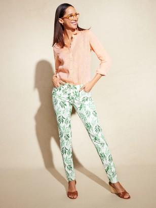 J.Mclaughlin Lexi Jeans in Beaumont Leaf