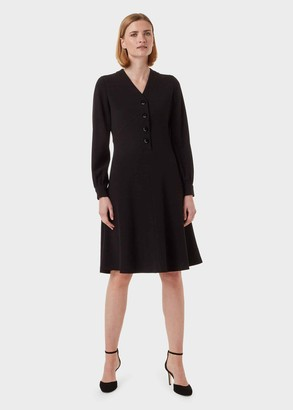 Hobbs Lillian Fit And Flare Dress