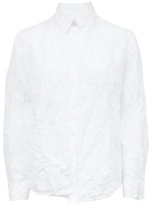 Martine Rose Crinkled-twill Shirt - White