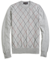 Brooks Brothers Cashmere Raker Crewneck Sweater