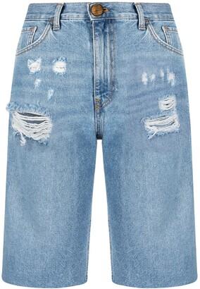 Pinko Slit Knee-Length Shorts
