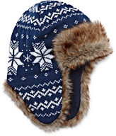 Asstd National Brand Navy Trapper Hat - Boys 8-20