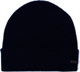Boss Orange Fomero Navy Knitted Beanie