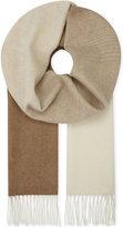Johnstons vicuna blend ombré scarf