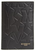 Givenchy Men's Tall Leather Billfold Wallet - Black