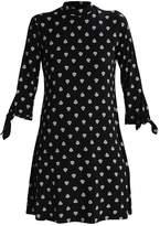 Baukjen ETTA Jersey dress black batik
