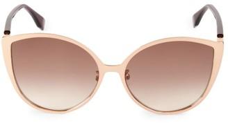 Fendi 60MM Round Sunglasses