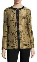 Etro Silk Leaf Jacket