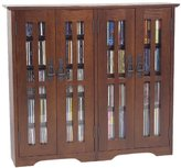 Leslie Dame M-380W Wall Mounted Mission Style Media Storage Cabinet