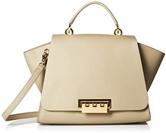 Zac Posen Eartha Iconic Soft Core with Grommet Perforation Top Handle Bag