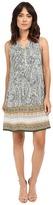 Christin Michaels Zip Front Challi Dress