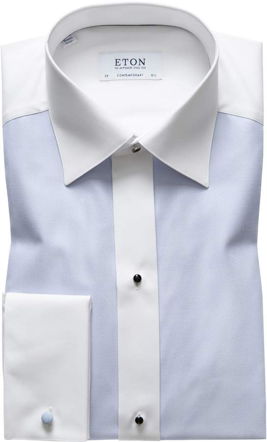 Eton Contemporary Fit Dobby Tuxedo Shirt