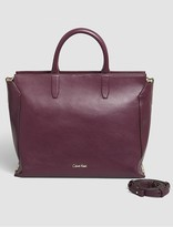 Calvin Klein Keyla Leather Tote Bag