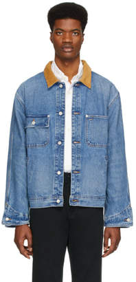 Polo Ralph Lauren Blue Denim Dungaree Jacket