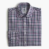 J.Crew CordingsTM for shirt in aubergine check