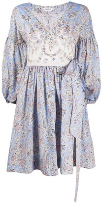Liberty London Floral Billowing Sleeved Dress