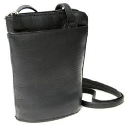 Royce Leather Royce Lightweight Crossbody Bag in Colombian Genuine Leather