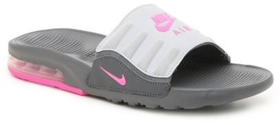 ladies pink nike sliders