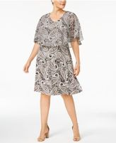 NY Collection Plus Size Popover Dress