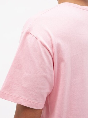 Gucci Rainbow Star-print Cotton-jersey T-shirt - Pink