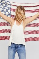 Free People Lady Liberty Crochet Shawl