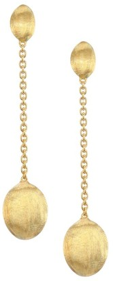 Marco Bicego Siviglia 18K Gold Drop Earrings