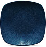 Noritake Navy-On-Navy Swirl Square Salad Plate
