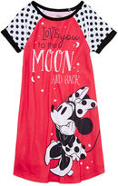 Disney Minnie Mouse Short-Sleeve Nightshirt - Girls
