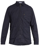 Tomas Maier Point-collar zip-through cotton jacket