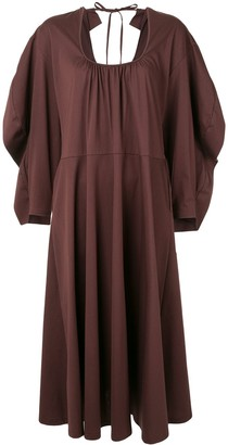 Irene Oversized Low Back Dress