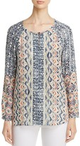 Nic+Zoe Surfside Print Top