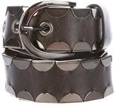 Diane von Furstenberg Scalloped Leather Belt