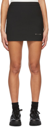 Alyx Black Formal Tailoring Miniskirt