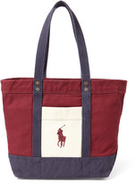 Polo Ralph Lauren Ralph Lauren Color-Blocked Big Pony Tote