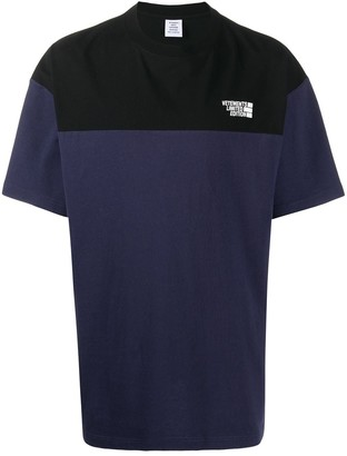Vetements short sleeve colour-block T-shirt